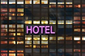 Dream of being lost in a hotel